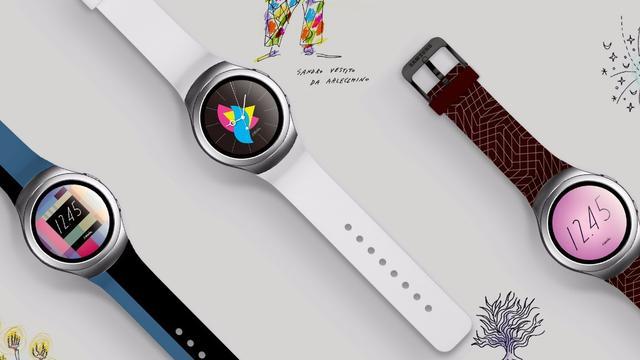 Ronde smartwatch Samsung Gear S2 in oktober verkrijgbaar