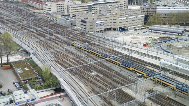 Nieuw onderzoek naar bouwen boven en rond sporen in Utrecht