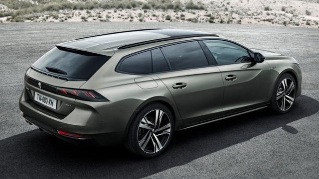 Peugeot presenteert nieuwe 508SW