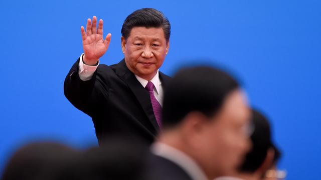 Chinese president presenteert miljardendeal bij top over Nieuwe Zijderoute