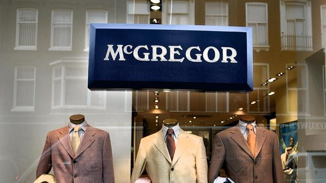 McGregor en Gaastra mogen dertien filialen verkopen in België