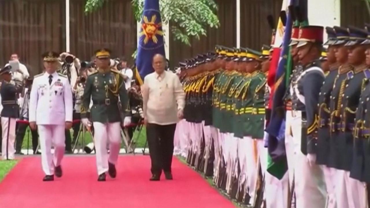 Aquino neemt afscheid als president van Filipijnen