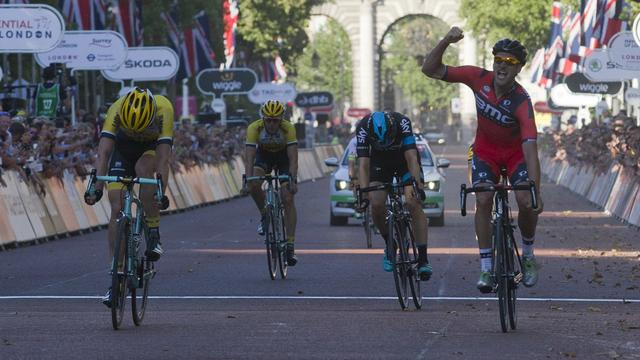 Drucker verslaat Teunissen in Prudential Ride London