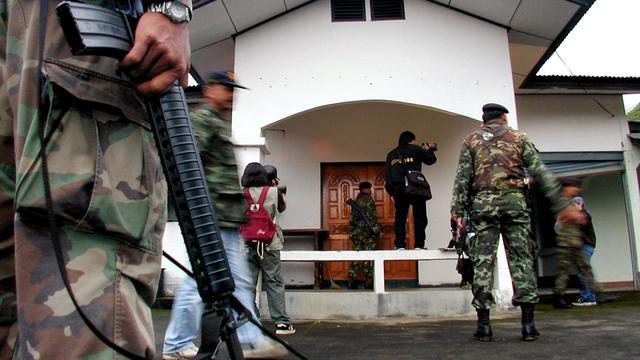 Zeker 32 doden bij belegering politie Myanmar door islamitische milities