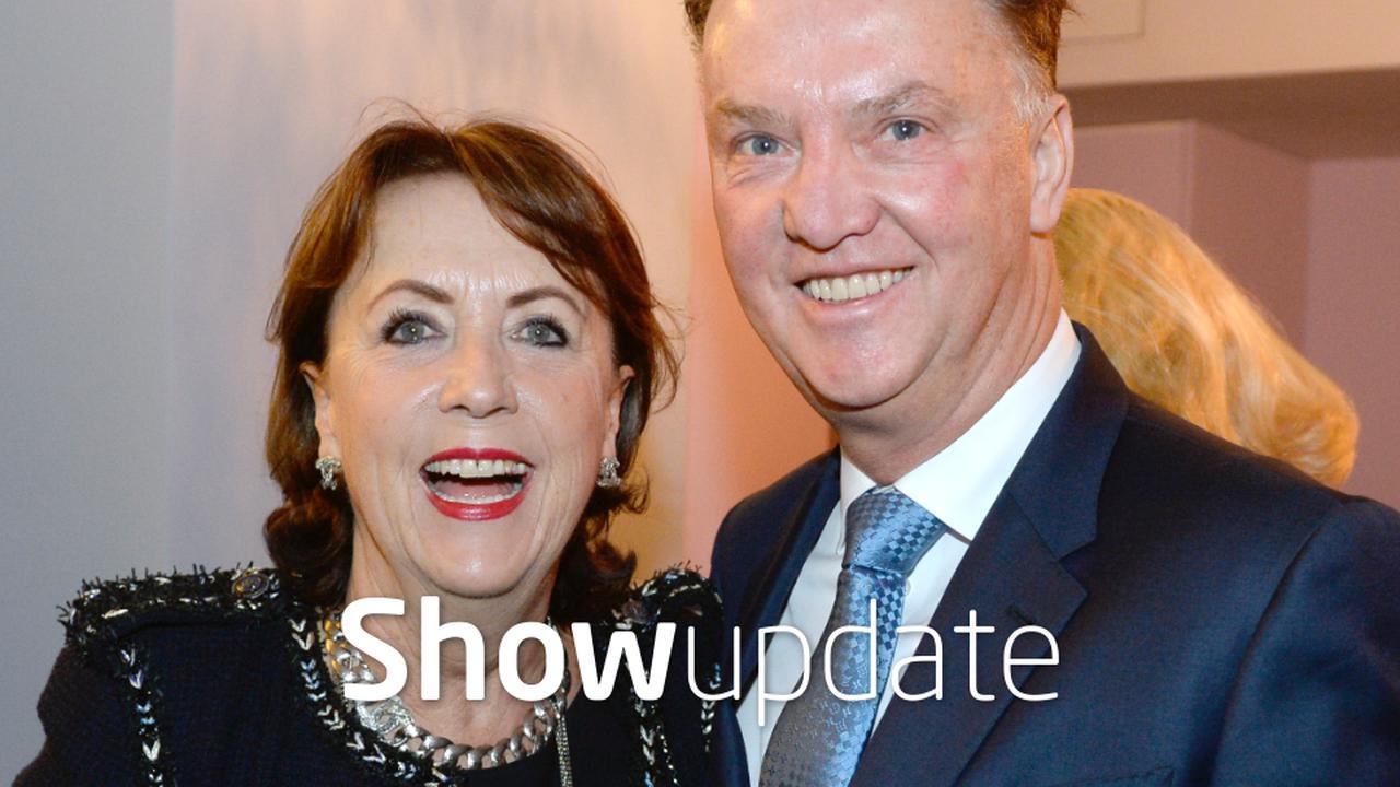 Show Update: Louis van Gaal maakt zich zorgen om dochter