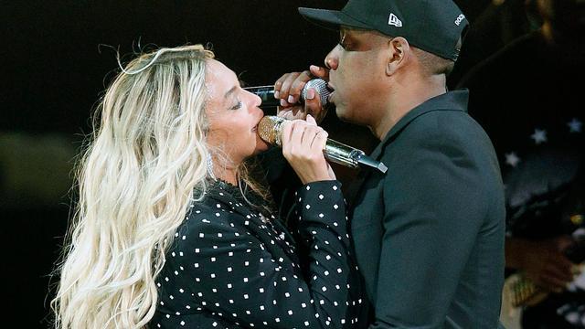 Beyoncé en Jay-Z treden samen op tijdens benefietconcert Mandela