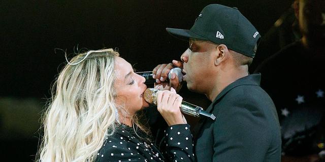 Fan die podium Beyoncé en Jay-Z op rende wordt niet vervolgd