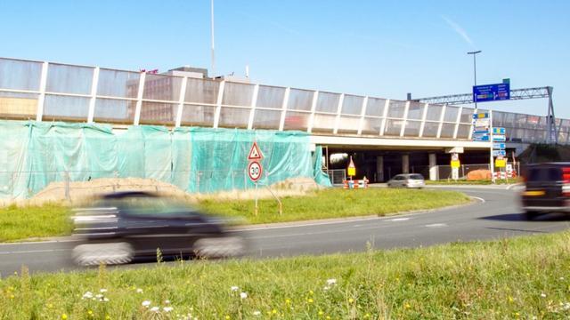 Renovatie viaduct Vrijheidsplein maandag hervat