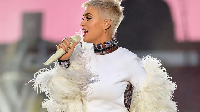 Katy Perry livestreamt haar weekend