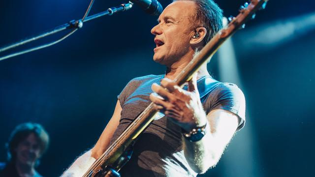 Sting geeft in april concert in Amsterdam