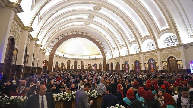 Egypte opent grootste kathedraal in Midden-Oosten in hoofdstad Caïro