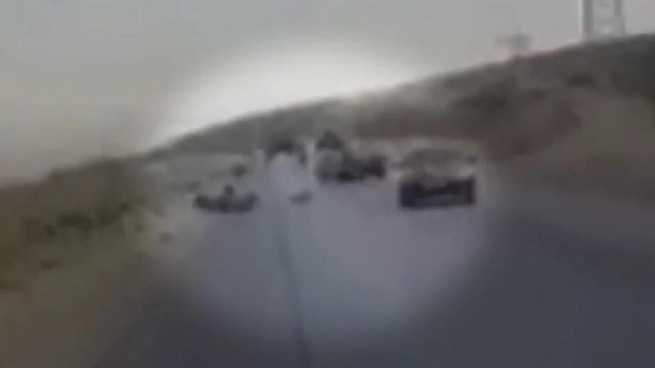 Mogelijke beelden fatale aanval op fietsers in Tadzjikistan gedeeld