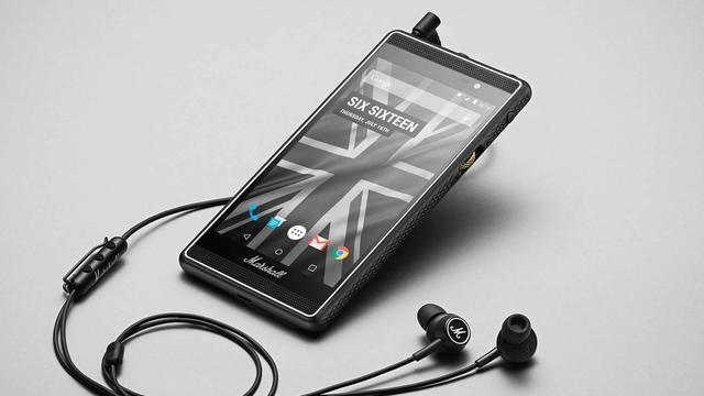 Audiofabrikant Marshall brengt smartphone uit