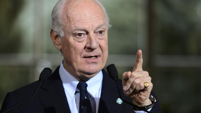 VN-gezant dringt aan op wapenstilstand Syrië