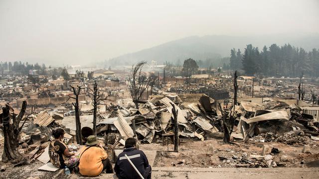 Reisadvies Chili aangepast wegens bosbranden