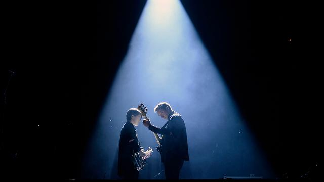 Engelse band The xx treedt op in Amsterdam