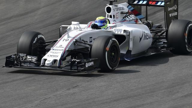Williams gaat toch niet in beroep tegen diskwalificatie Massa