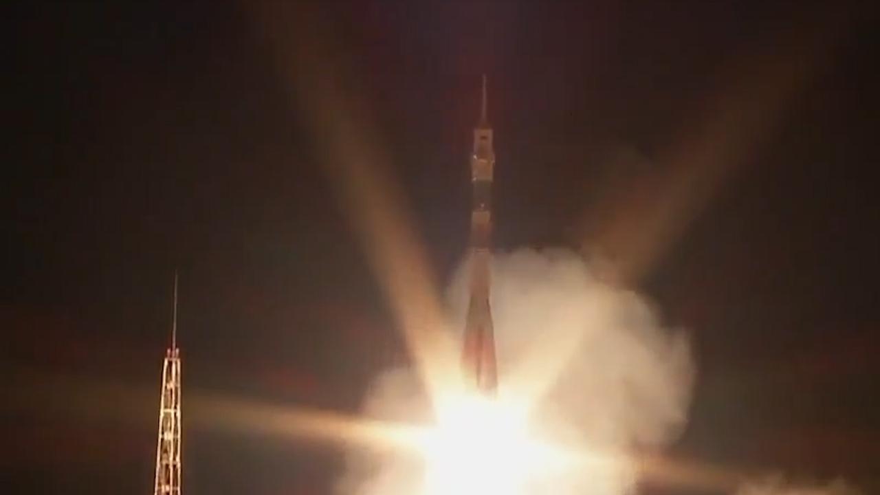 NASA en Rusland  lanceren gezamenlijk raket richting ISS