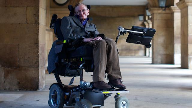Profiel: Stephen Hawking wilde universum volledig begrijpen