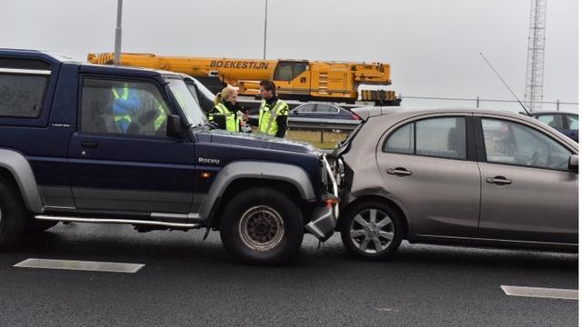 Opnieuw ongeval op Rijksweg A4