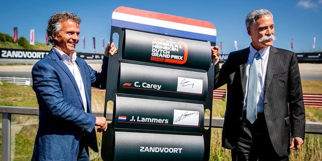 Zandvoort krijgt in mei 2020 definitief weer Formule 1-race