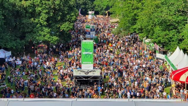 Bijna twintigduizend bezoekers voor muziekfestival Werfpop