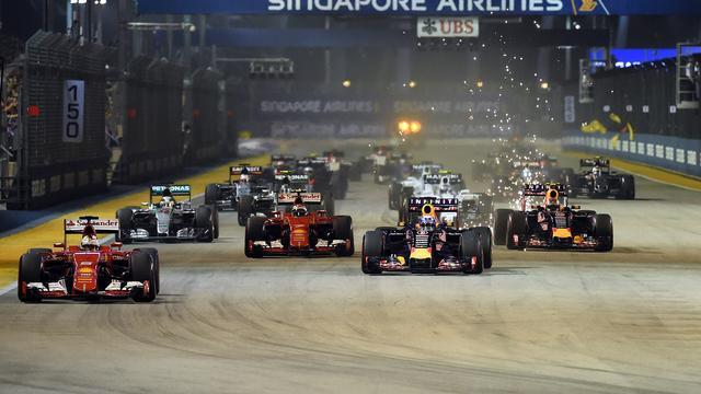Toeschouwer krijgt zes weken cel voor wandeling over circuit Singapore