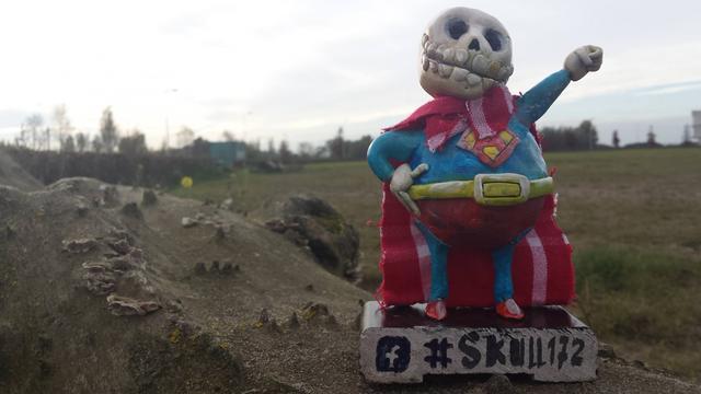 Dit najaar weer skullhunten in Alphen aan den Rijn