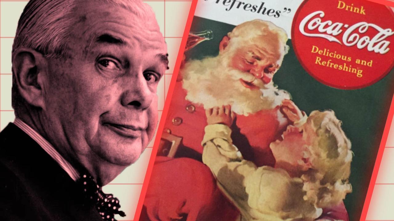Is de Kerstman bedacht door Coca-Cola?