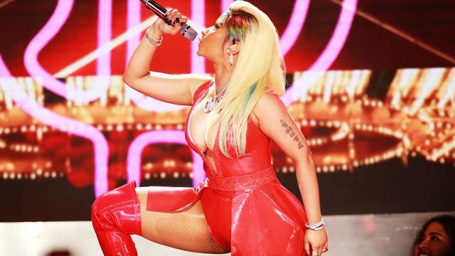 Ook Nicki Minaj geeft optreden bij MTV Video Music Awards