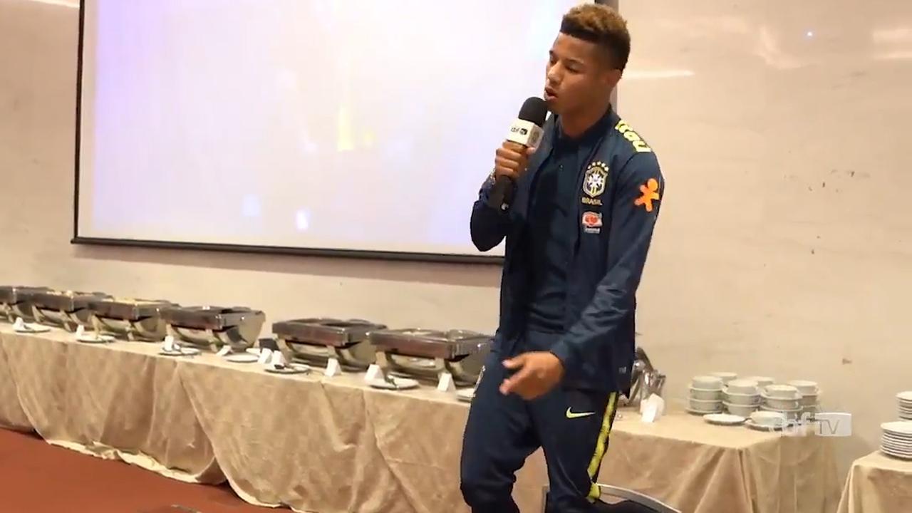 Debutant Neres zingt liedje bij Braziliaanse selectie