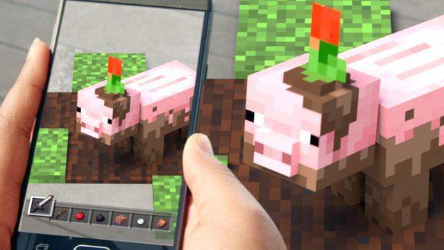 Nieuwe Minecraft-game voor smartphones vanaf oktober beschikbaar