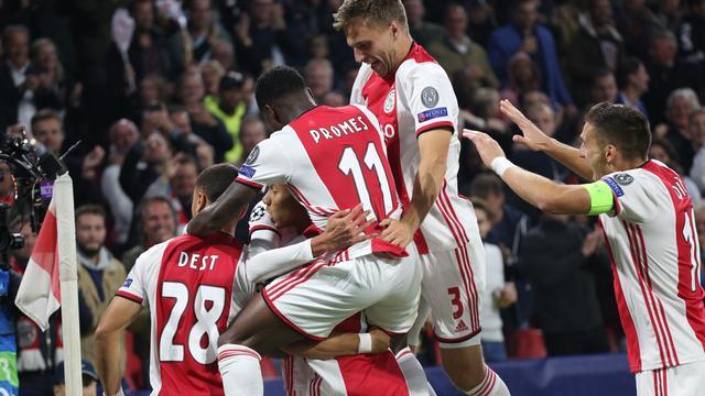 2,2 miljoen kijkers voor duel tussen Ajax en Lille op Veronica