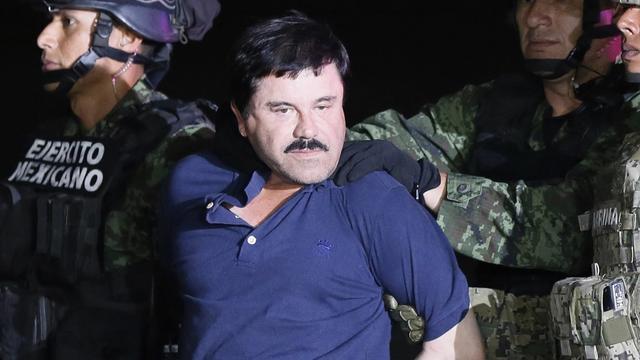 Drugsbaron 'El Chapo' veroordeeld voor leiden van criminele organisatie