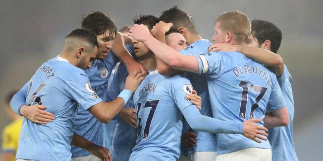 Manchester City klimt naar derde plaats, Tottenham morst punten