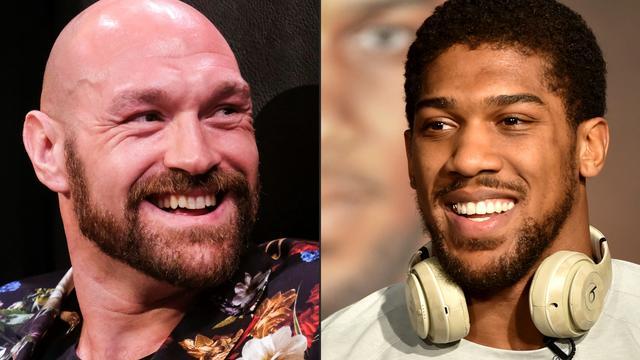 In de bokswereld wordt al lang uitgekeken naar een gevecht tussen Tyson Fury (links) en Anthony Joshua.