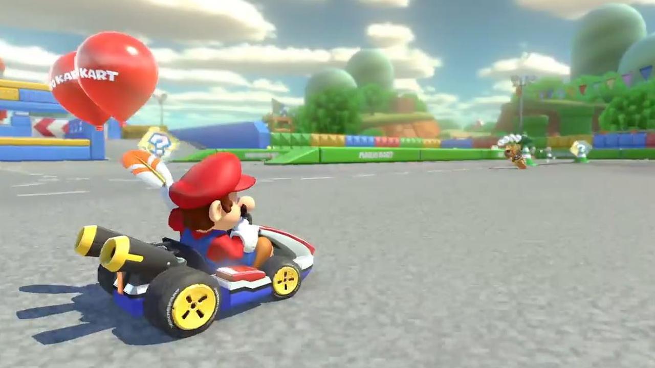 Trailer: Mario Kart 8 Deluxe