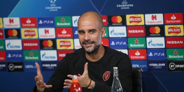 Guardiola: 'City-fans vinden Premier League leuker dan Champions League'