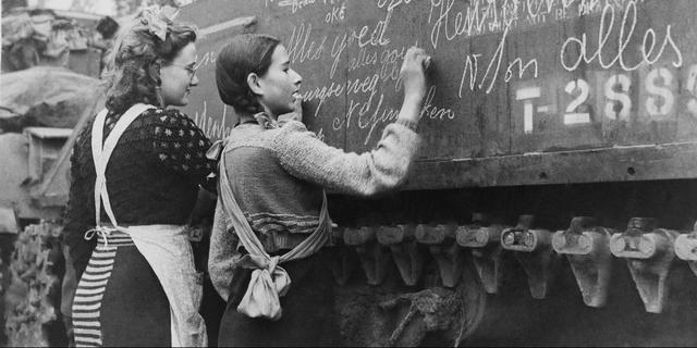 De Tweede Wereldoorlog in Nederland in vijftig foto's