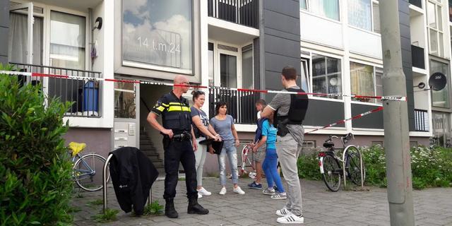 Politie schiet man met bijl neer in Schiedam