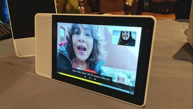 Lenovo toont slimme speaker met touchscreen