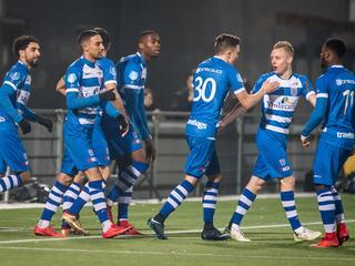 Mokhtar brengt Zwollenaren al na twee minuten op voorsprong