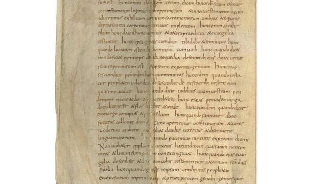 Uniek manuscript van antipaus uit 1200 gevonden in Het Utrechts Archief