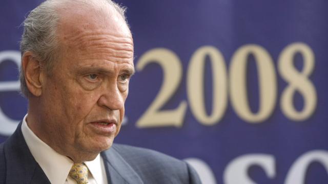 Voormalig senator en acteur Fred Thompson (73)  overleden