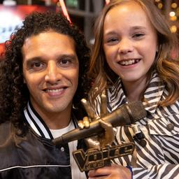 The Voice Kids-winnares is 'een beetje flabbergasted' na droomavond