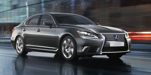 'Lexus introduceert LS op waterstof'