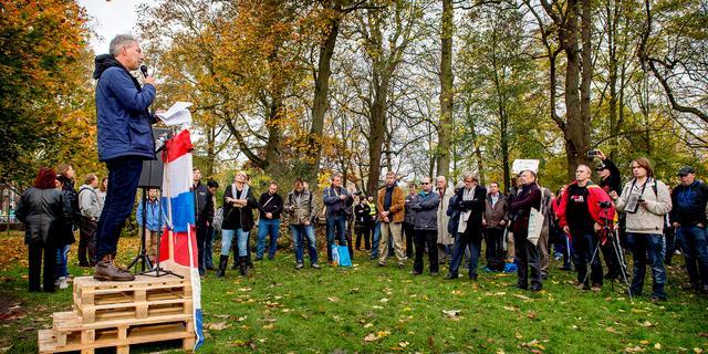 Ruim dertig arrestaties bij Pegida-demonstratie in Utrecht