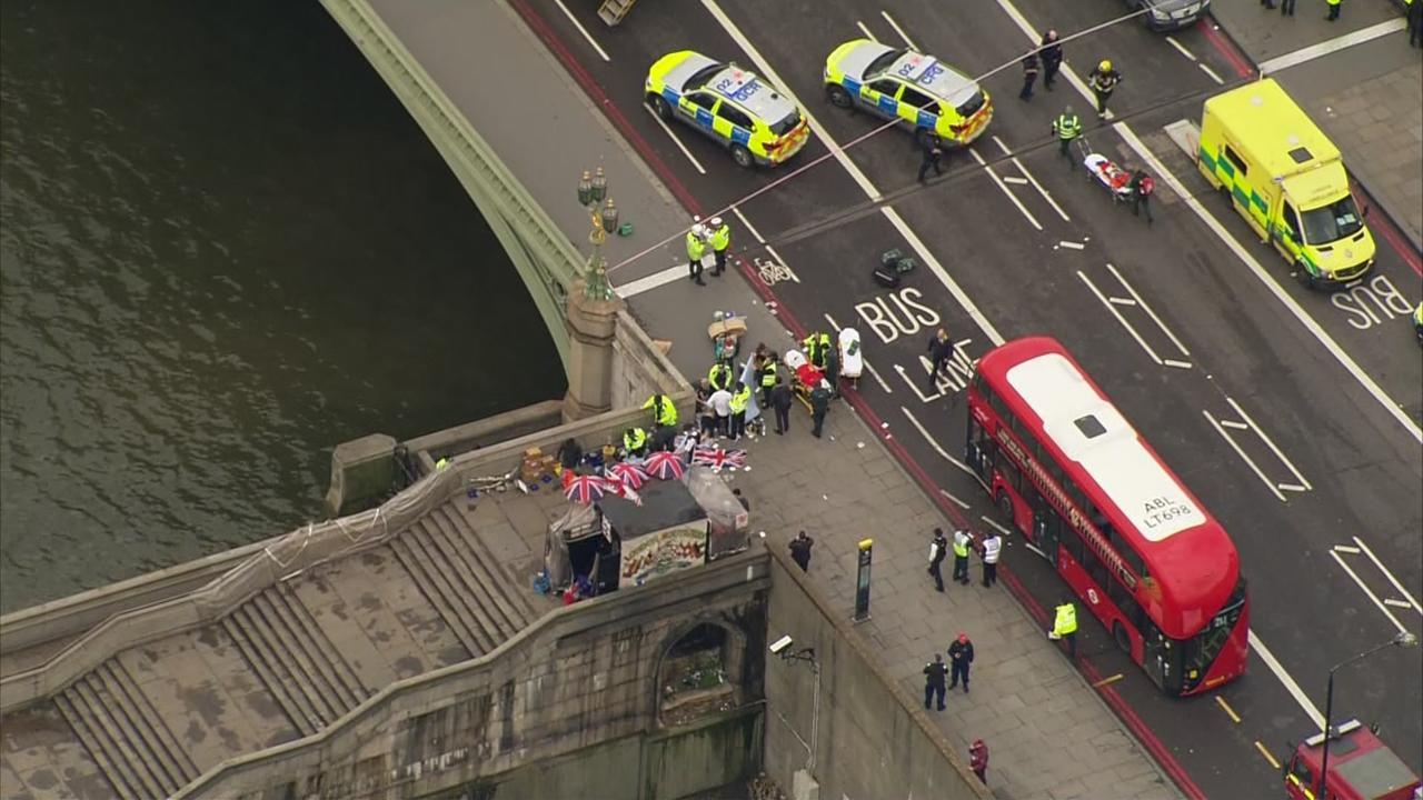 Dit is wat we tot nu toe weten over de aanslag bij het Brits parlement