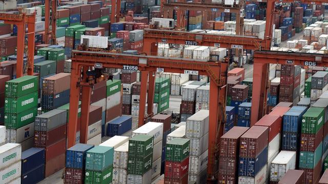 Export grote economieën trekt aan