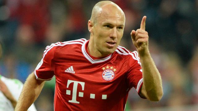 Bayern begint met Robben tegen Chelsea